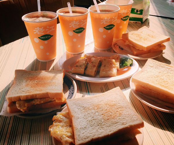 老江紅茶牛奶✨老字號的早餐店&消夜好選擇