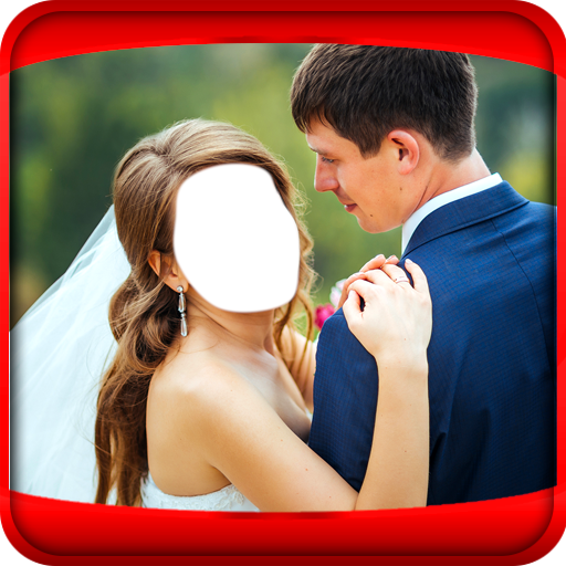 Couple Wedding Photo Montage