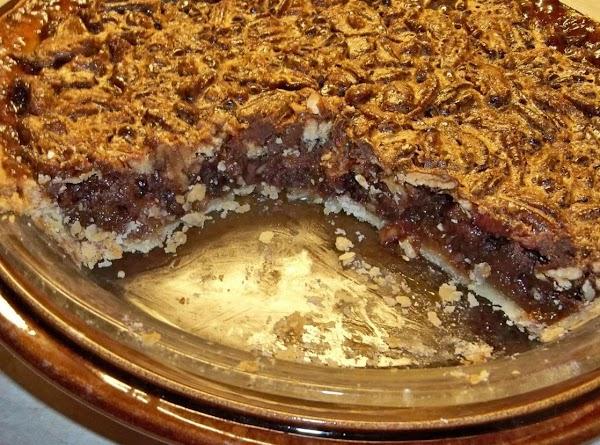 Chocolate Pecan Pie Recipe