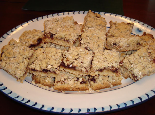 Jam Oatmeal Bars Recipe