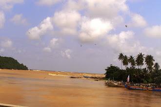 Photo: Atlantic coast in Ghana
