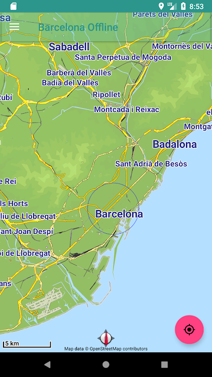Map Of Spain For Android.Offline Map Barcelona Spain Android Apps Appagg