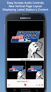 Sports Radio 95.3- screenshot thumbnail