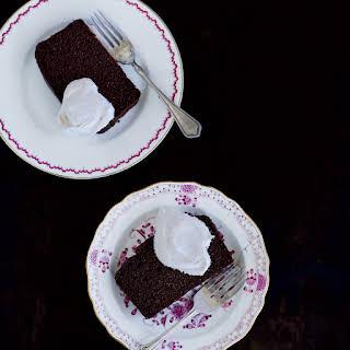 Chocolate, Cinnamon and Almond Loaf Cake.