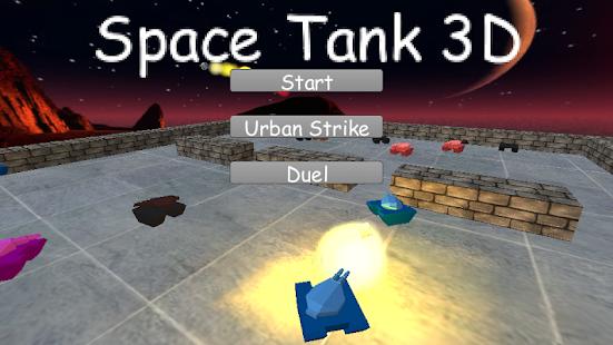 Space Tank 3D - náhled