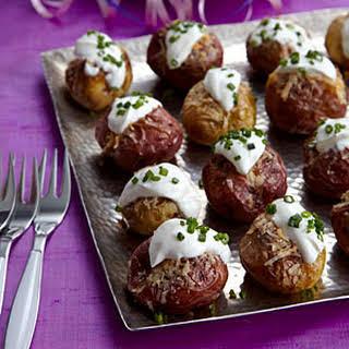 Mini Twice-Baked Potatoes.