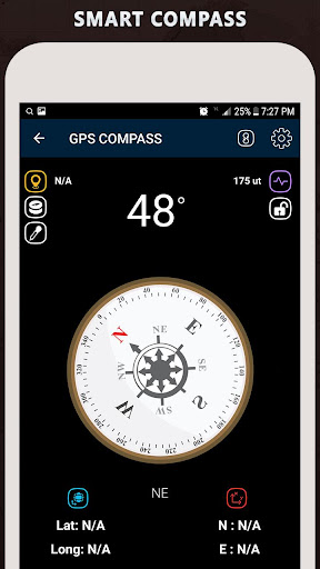 Gyro Compass App for Android Pro & GPS Speedometer screenshot 1