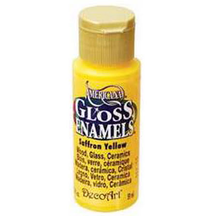 Glasfärg - Saffron Yellow
