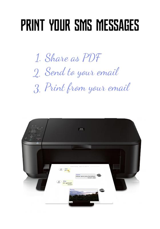 🔥SMS Backup & Print -Convert,Export,Share PDF,CSV screenshots