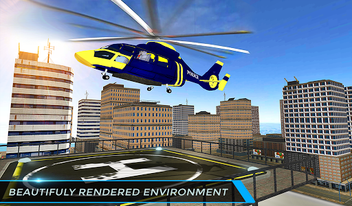 Real City Police Helicopter Games: Rescue Missions 4.0 screenshots 16