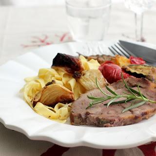 Herb and Garlic Crusted Pork Roast