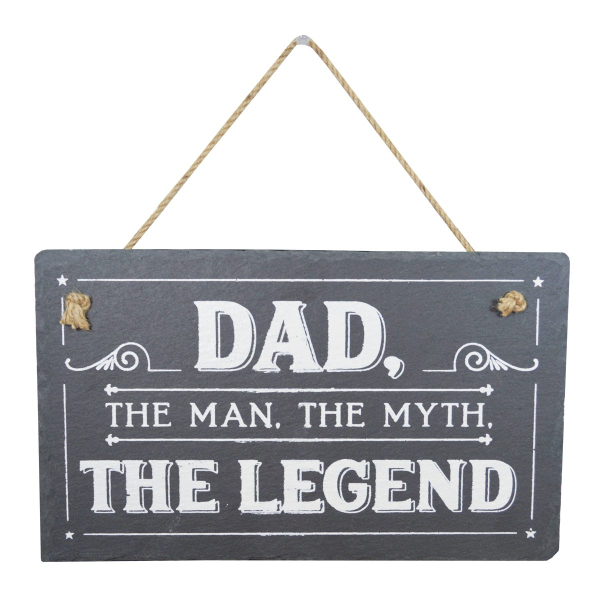 fathers day dad legend plaque gift