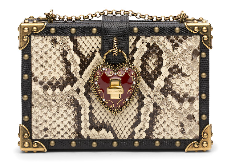 Dolce and Gabbana python clutch, R56 000