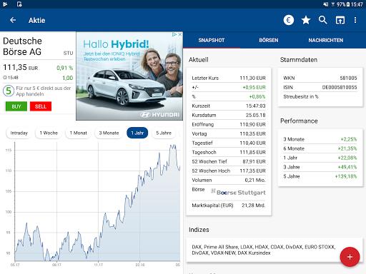 Börse & Aktien - finanzen.net  screenshots 13
