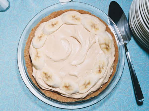Sugar Free Peanut Butter Banana Pie Recipe