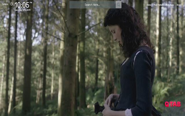 Outlander Wallpapers HD Theme