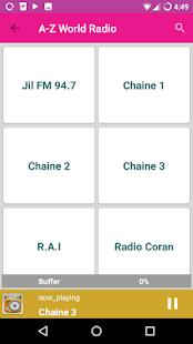 A-Z World Radio - náhled