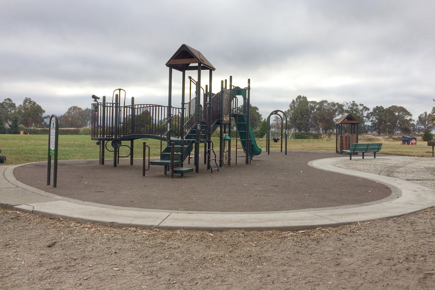 Godfrey Park play structure