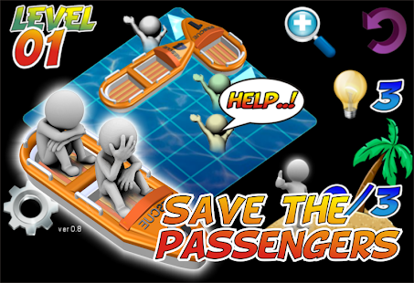 Puzzle LifeBoat Rescue - náhled
