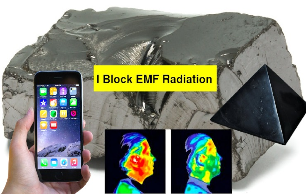 This Shungite Plate On Your Phone Will Absorb Harmful EMF Radiation