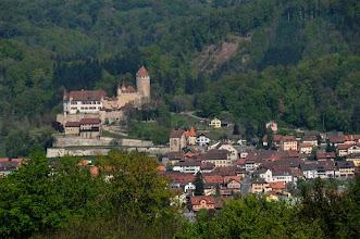 Photo: Le château de Lucens