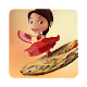 Maya and the flying pizza