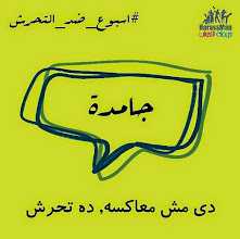 Photo: 4.18.15 Egypt - Don't tolerate any sexual harassment in the street and report to HarassMap.org