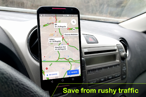 GPS Navigation & Traffic Maps : Car Navigation - náhled