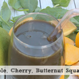 Apple, Squash and Cherry Juice | With Added Spinach and Sweetened With Pears!