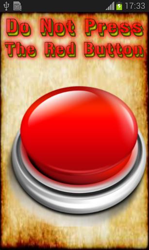 大きな赤いボタン