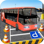 City Bus Parking Driving Simulator 3D