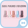 Cute Wallpaper Nail Polish Friends Theme APK icon
