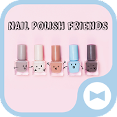 Cute Wallpaper Nail Polish Friends Theme