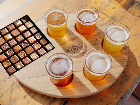 Workshop Foodpairing Beer and Chocolate in Bruges