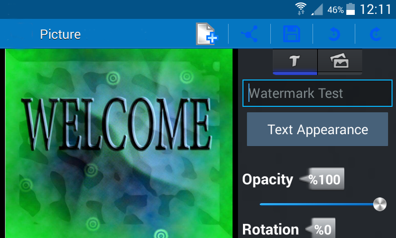 android Add text to photo – pro Screenshot 5