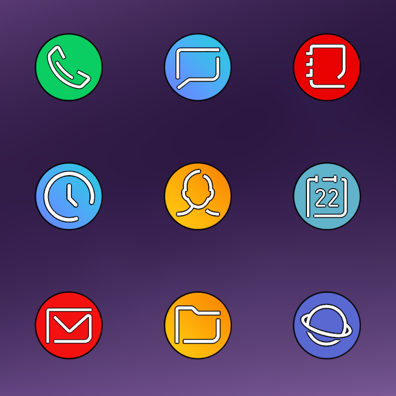 PIXEL GALAXY - ICON PACK Screenshot 3