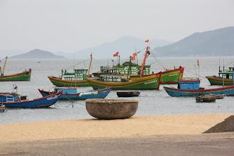 Photo: Year 2 Day 10 - Boats at Qui Nhon (Vietnam)
