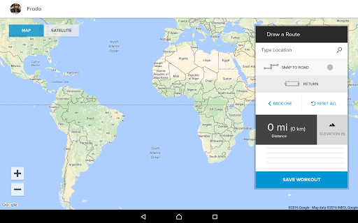 iFit Bluetooth Tablet App  screenshots 4