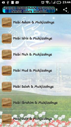 Mukjizat Para Nabi & Rasul screenshots apkspray 13