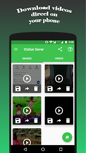 Whatsapp Status Saver - Download Images & Videos Screenshot