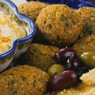 Falafel (Fried Chickpea Nuggets).