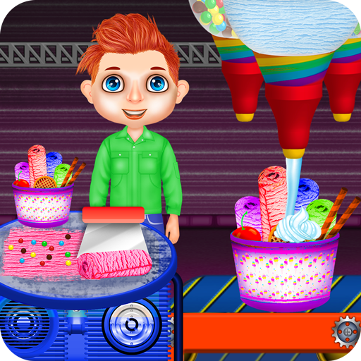 Ice Cream Rolls Factory: Popsicle Candy Bar Games (game)