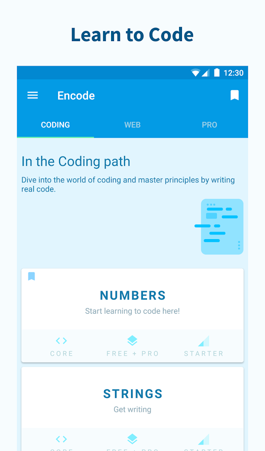 Encode: Learn to Code- screenshot