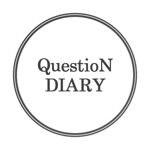 Questions Diary:One self-reflection question. Icon