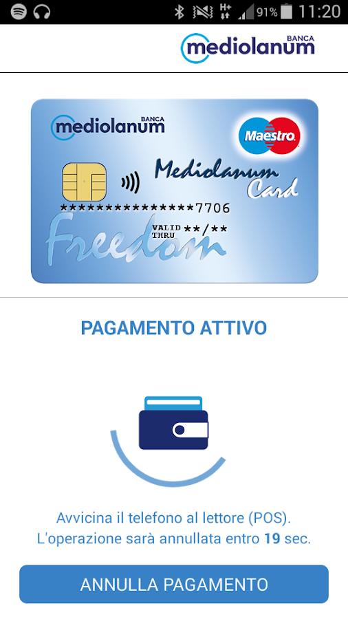 Mediolanum Wallet- screenshot