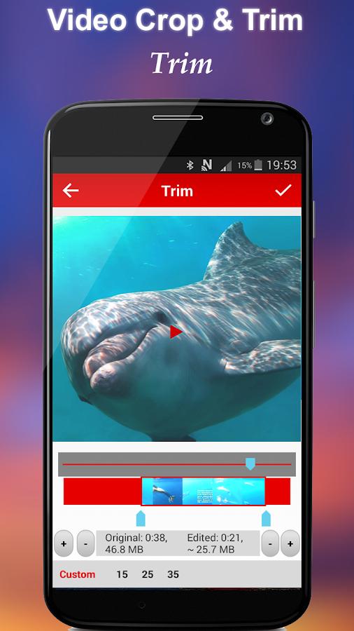 Screenshots of Crop & Trim Video for iPhone
