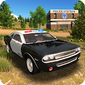 Police Car Driving Offroad