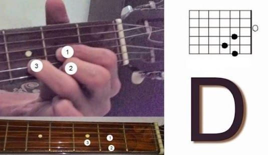 Complete Guitar Chord Chart - náhled