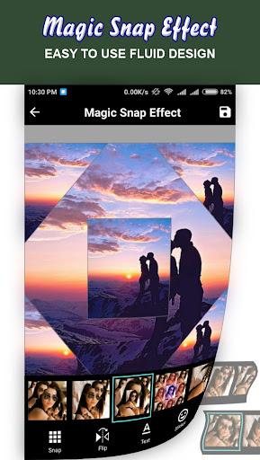 Magic Snap Effect - Photo Editor 1.5 screenshots 5