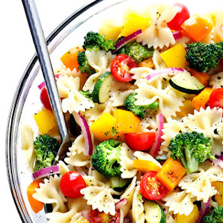 Veggie Lovers' Pasta Salad.